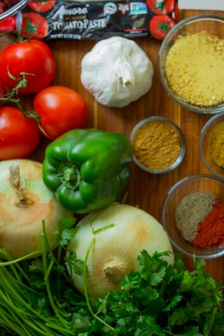 Vegetarische buffetten